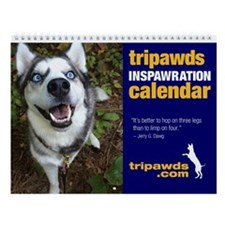 Tripawds Wall Calendar #12 - New For 2015