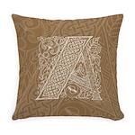 Celtic Letter A Master Pillow