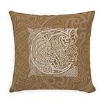 Celtic Letter C Master Pillow