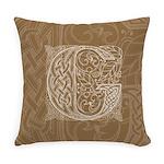 Celtic Letter G Master Pillow