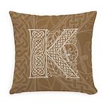 Celtic Letter K Master Pillow