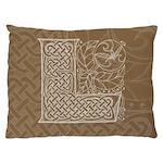 Celtic Letter L Dog Bed