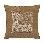 Celtic Letter L Master Pillow