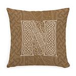 Celtic Letter N Master Pillow