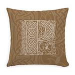 Celtic Letter P Master Pillow