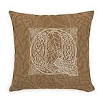Celtic Letter Q Master Pillow