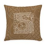 Celtic Letter S Master Pillow