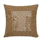 Celtic Letter T Master Pillow