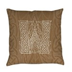 Celtic Letter W Master Pillow