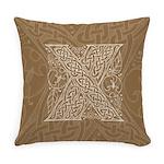 Celtic Letter X Master Pillow
