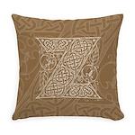 Celtic Letter Z Master Pillow