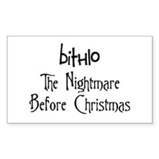 Bithlo Nightmare Rectangle Decal