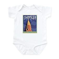 NY, Chrysler Building Infant Bodysuit