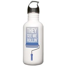 They See me Rollin' Water Bottle