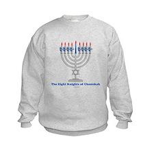 Eight Knights Of Chanukah Sweatshirt