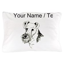 Wire Fox Terrier (Custom) Pillow Case