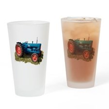 Fordson Vintage Tractor Drinking Glass