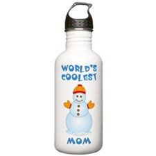 World's Coolest Mom Water Bottle