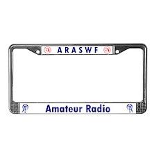 ARASWF License Plate Frame
