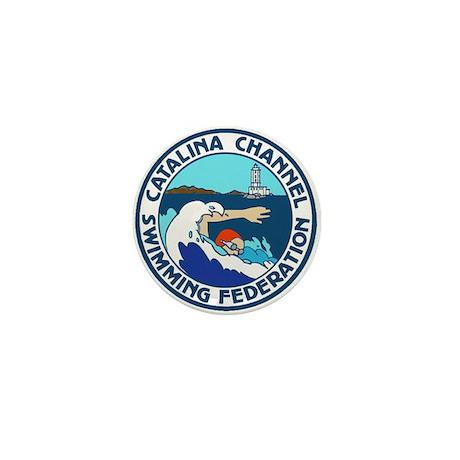 Swim Catalina Mini Button