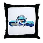 Swim Catalina Throw Pillow