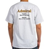 The Admiral's Ash Grey T-Shirt