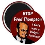 Stop Fred Thompson Magnet