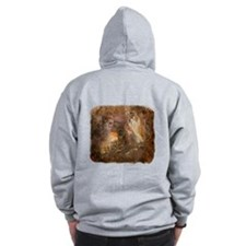 Mountain Lion Collage Zip Hoodie