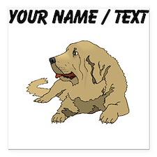 """Spanish Mastiff (Custom) Square Car Magnet 3"""" x 3"""""""