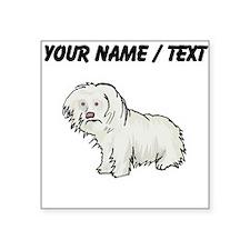 Spanish Water Dog (Custom) Sticker