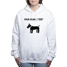 Kerry Blue Terrier (Custom) Women's Hooded Sweatsh