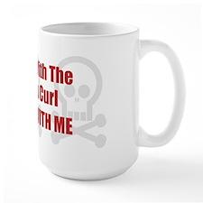 Mess With Curl Mug