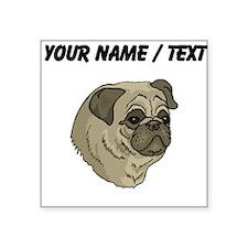 Pug (Custom) Sticker