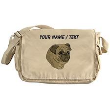 Pug (Custom) Messenger Bag