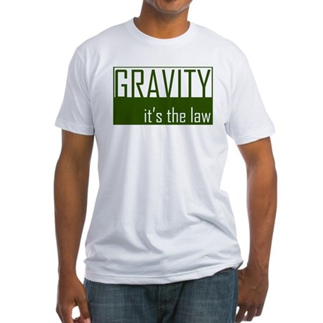 Gavity, It's The Law Fitted T-Shirt