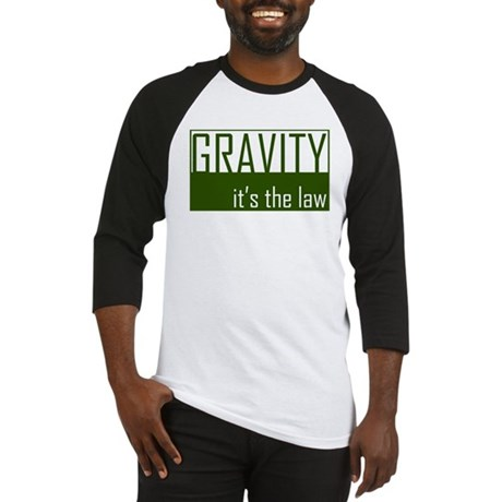 Gavity, It's The Law Baseball Jersey