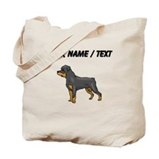 Rottweiler (Custom) Tote Bag