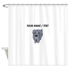 Neapolitan Mastiff (Custom) Shower Curtain