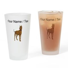 Great Dane (Custom) Drinking Glass