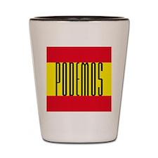 PODEMOS Shot Glass