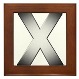 Mac OS X styled X Framed Tile