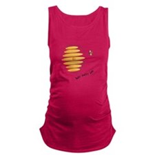 Busy Buzzy Bee Maternity Tank Top