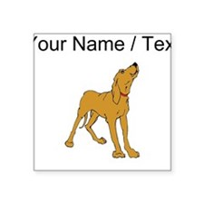 Redbone Coonhound (Custom) Sticker