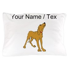 Redbone Coonhound (Custom) Pillow Case