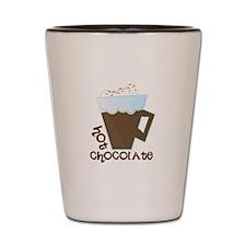 Hot Chocolate Shot Glass