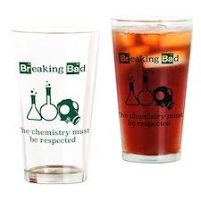 Breaking Bad Chemistry Drinking Glass