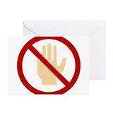 Don't Touch Greeting Cards (Pk of 10)