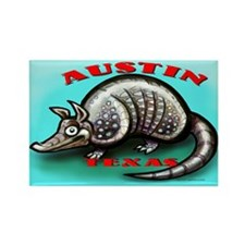 Armadillos Rectangle Magnet (10 pack)