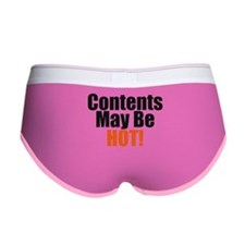 Contents May Be Hot Women's Boy Brief