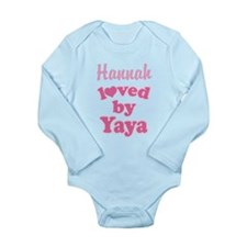 Personalized Grandchild Gift from Yaya Body Suit